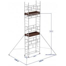 Marchetti Trabattello Alluminio SMART 6.25m
