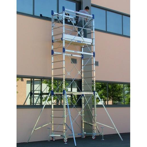 Trabattello ULYSSE Base Estraibile (h lavoro 7,80 m)