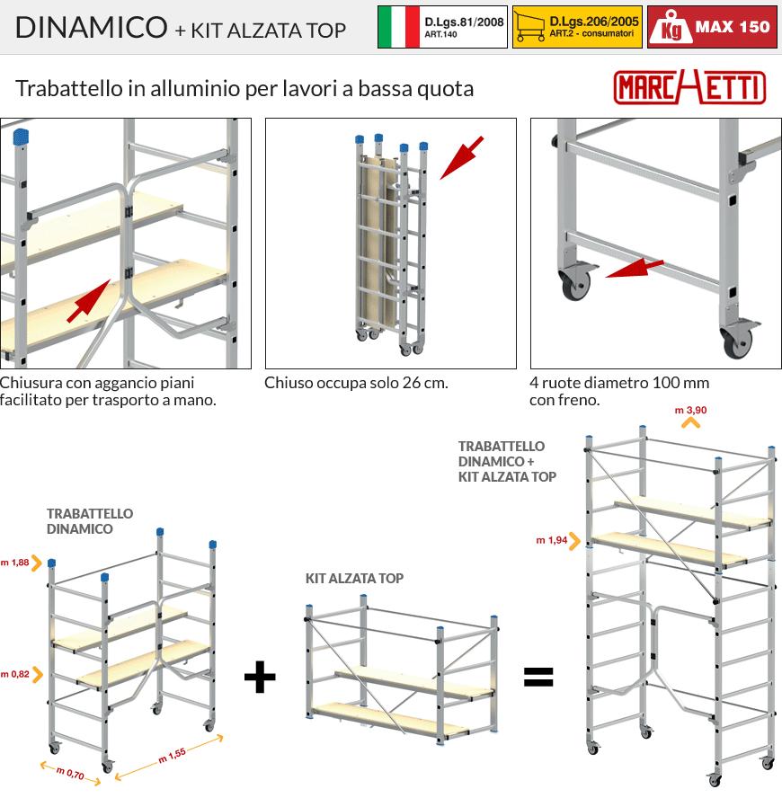 Marchetti DINAMICO + Kit