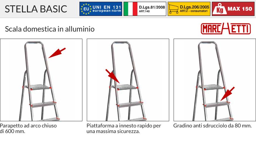 Scala STELLA BASIC Marchetti